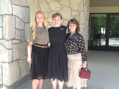 Sister Christiansen, Sister Lee, Sister Pass