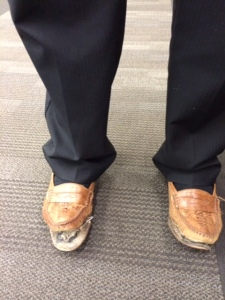 Elder Lakatani's Shoes