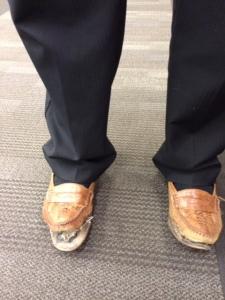 Elder Lakatani's Shoes
