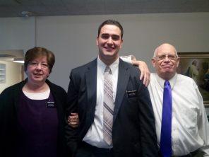 SIster Jerrell, Elder Blankenship and Brother Jerrell