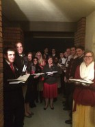Scottsdale Zone Caroling at Mission Home 12.2014