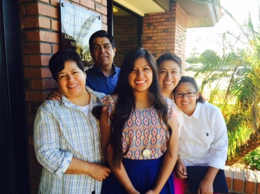 Sister Aguado and Familia -Homeward Bound