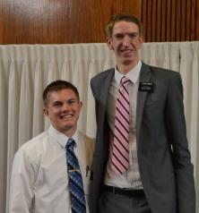 Elders Robinson and Hamson