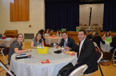At lunch - Sisters Doxey, Jackson and Elders Wright and Aiono