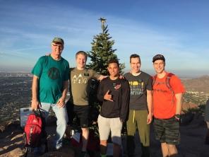 12-12-16 Marc hikes Camelback Mtn (8)