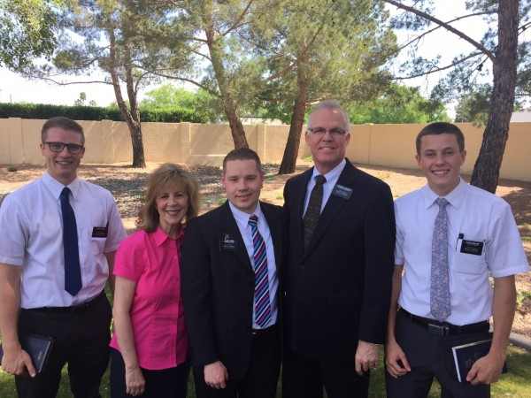 3-20-17 New Arriving Missionary Elder Vagen