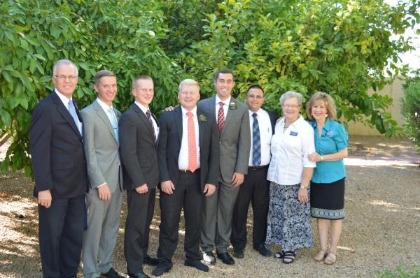 Best Departing Missionries