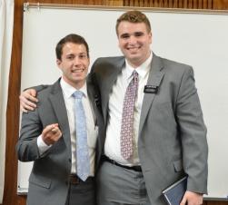 Elder Halstom & Elder Pearce